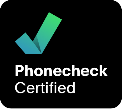Used device certification by Phonecheck